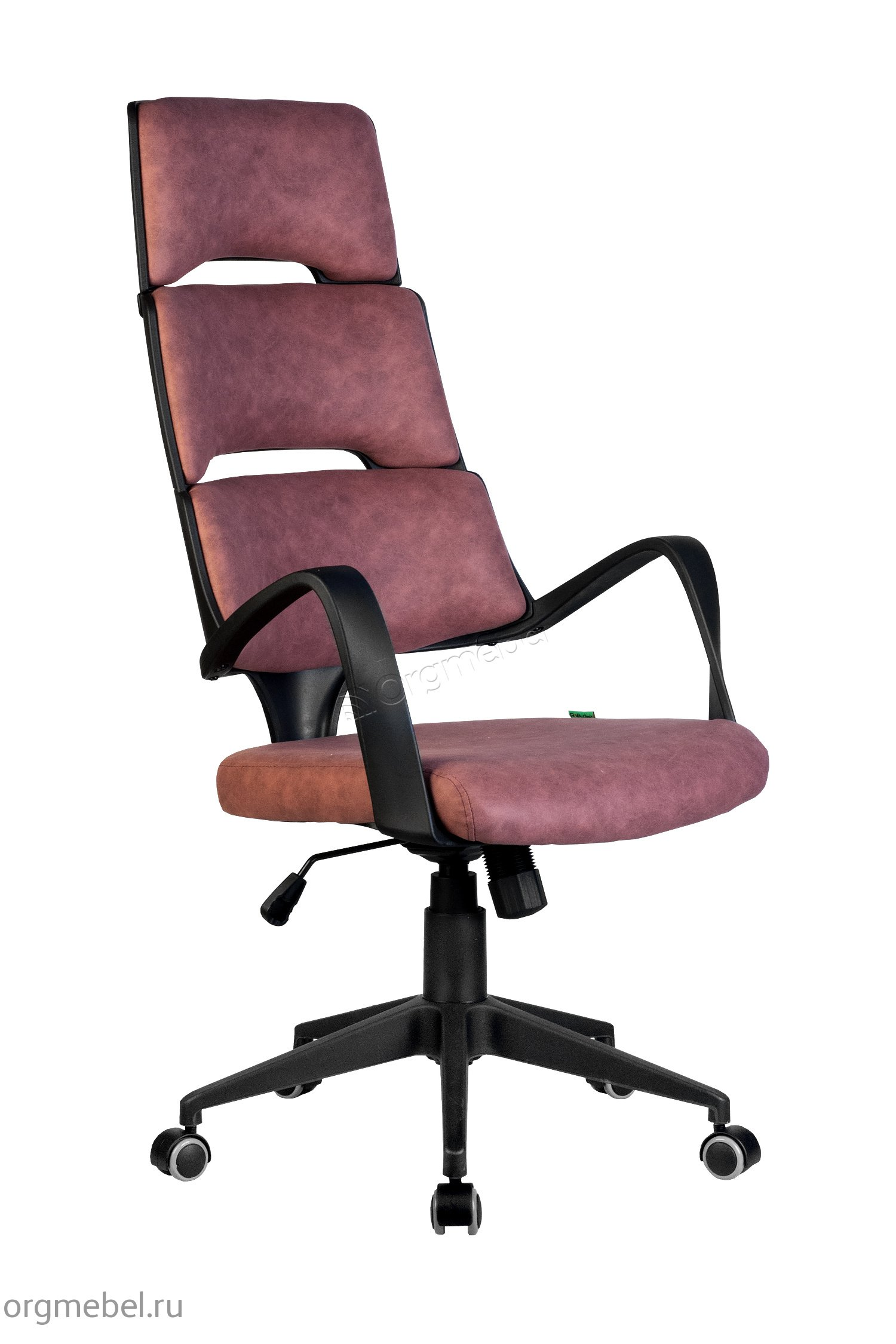 Кресло Riva Chair SAKURA (чёрный пластик)-ТТ-Т, цвет Терракота, ткань, обивка Ткань